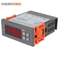 AC 220V LCD Digital Air Humidity Controller Humidity Meter Tetster Measuring Range 1 99 With Sensor