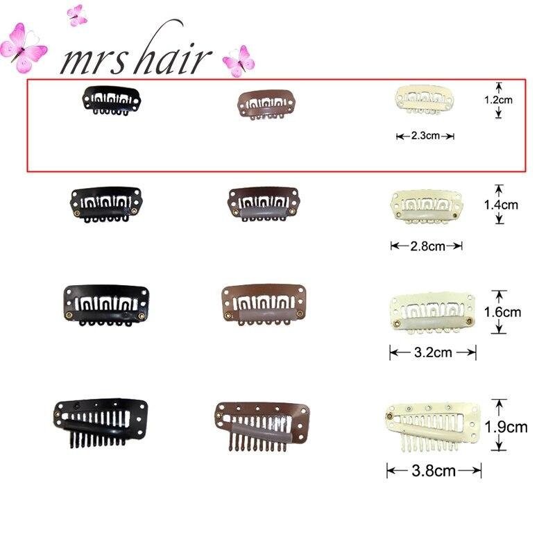 2,3 см заколки для наращивания волос, зажимы для переплетения волос/Аксессуары для париков/кружевные парики/зажимы для наращивания волос