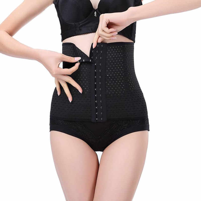 417e32a8b4 ... Waist Trainer Hot Shapers Weight Loss Corset Slimming Wraps Personal  Care Body Shaper Waist Strap Belt ...