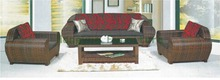 Outdoor garden modern sofa furniture set with cushions