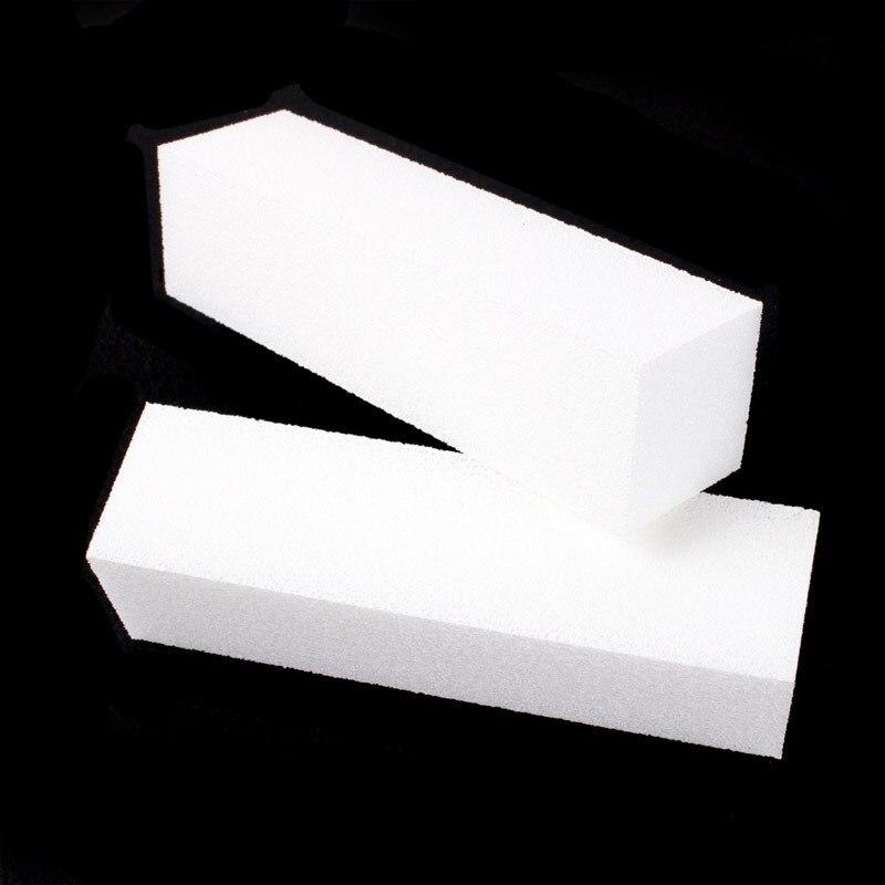 ̀ •́ Professional 2pcs Plastic Nail File Buffer Buffing Sanding ...