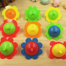 TOYZHIJIA 5Pcs Pegasus Plastic Mini Top Spinning Kindergarten Single Fidget Spinner Hand Spiner Gyro Toys(China)