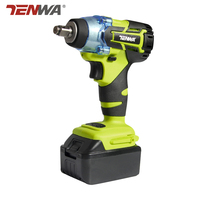 TENWA20V Brushless Electric Impact Wrench Cordless Rechargeable Lithium Battery Socket Impact Digital Electric Wrench