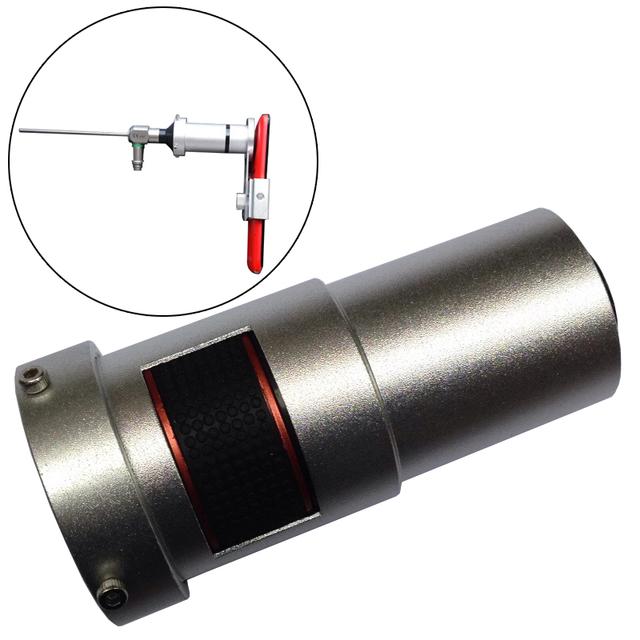 Dhl/ems clínica médica ajustable marco de la cámara del teléfono para endoscopio + clip de teléfono para iphone 6 s plus para la galaxia s6 7 s portátil
