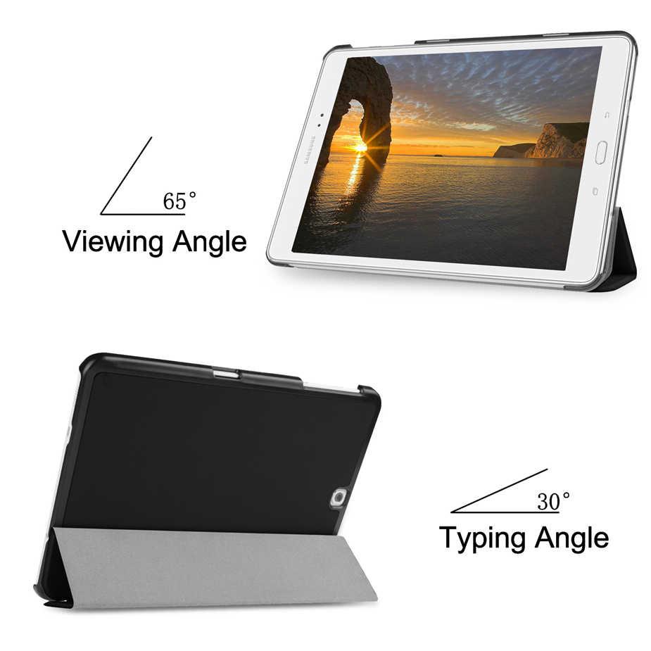 "Nieuwe PU Leather Case Voor Samsung Galaxy Tab S2 9.7 T810 T813 T815 T819 9.7 ""inch tablet cover voor samsung Galaxy Tab S2 9.7 case"