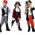 kids boys pirate costumes for Boys Pirates of the Caribbean Cosplay Costumes for kids halloween costumes for children