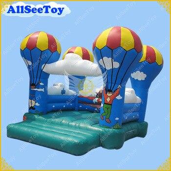 Nieuwe Ontwerp parachute Springkasteel, Anti-aging PVC Zeildoek Bounce Huis, Springkasteel te Koop