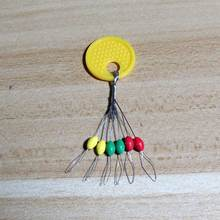 600pcs colorful fishing bobber stopper float stopper line stoppers bobber fishing stopper small fishing accessories