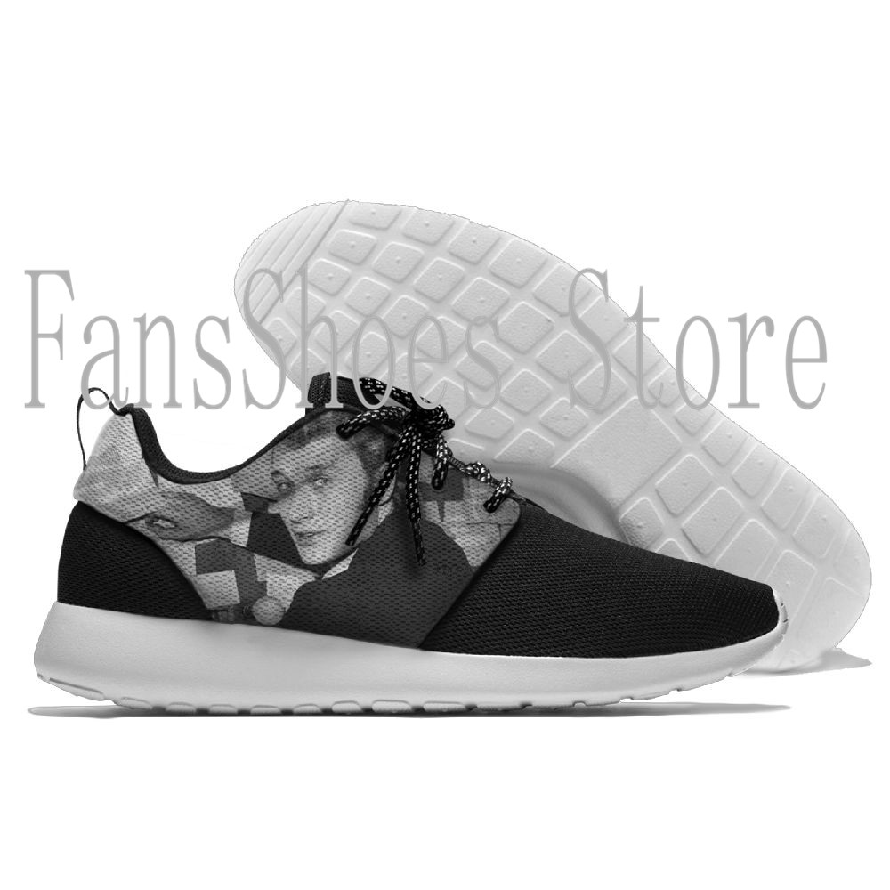 $34.19 johnny hallyday rip lifestyle Style Running Shoes Lace Up Athletic Shoes Outdoor Walkng jogging Sneakers Breathable shoes