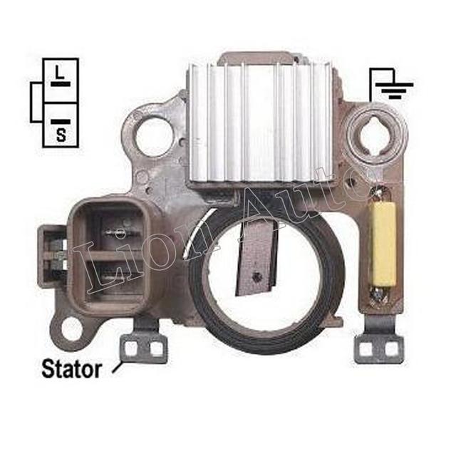 León Nuevo Regulador Del Alternador 12 Voltios Para Mitsubishi 369 Vr-h2009-108 Mercury Nissan Im369