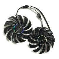 T129215SU 88mm GPU Cooler Graphics Card Fan For REDEON AORUS RX580 570 GIGABYTE GV RX570AORUS GV