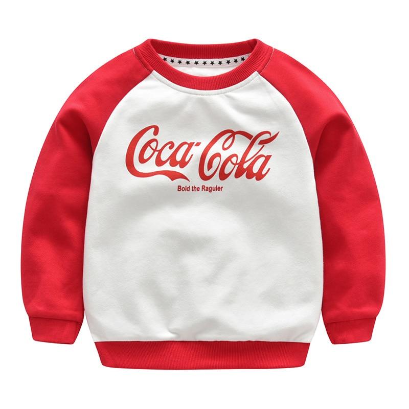 spring autumn baby kids boy clothes letter printing sweatshirt red elastic boys sweatshirts girl sweatshirt girls 2 years new york letter cropped sweatshirt