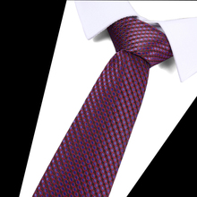 Floral Solid 100%Silk Tie 7.5cm Slim Striped Mens Casual Blue Black Skinny Ties Red Green Gray Necktie For Men Wedding