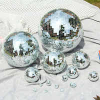 Bola de espejo bola reflectante Bola de discoteca bola de cristal de boda adornos navideños para el hogar Kerstballen Natal Navid