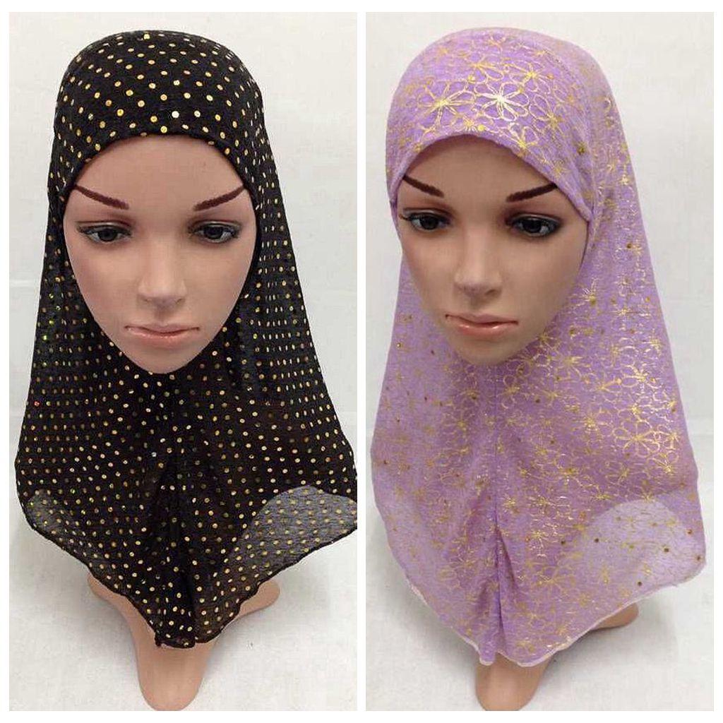⑤Moda mujer gasa suave larga bufanda musulmán hijab del Mantón ...