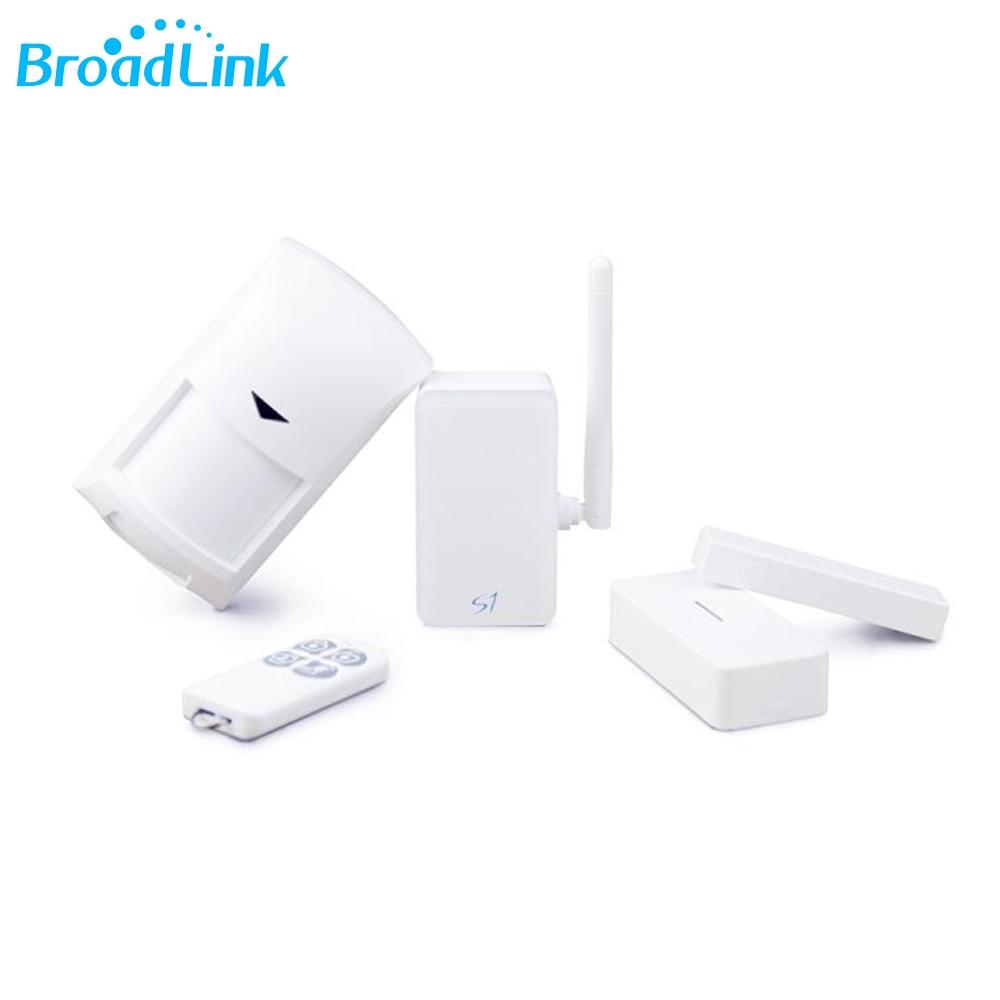 Broadlink s1c Умный дом автоматизации Системы smartone S1 движения PIR двери Сенсор Wi-Fi Беспроводной Дистанционное управление через IOS Android