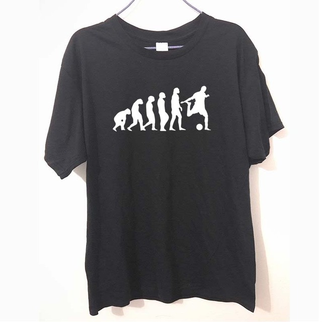 Evolution Of Footballer T Shirt Design Tops T shirt Cool Novelty ...