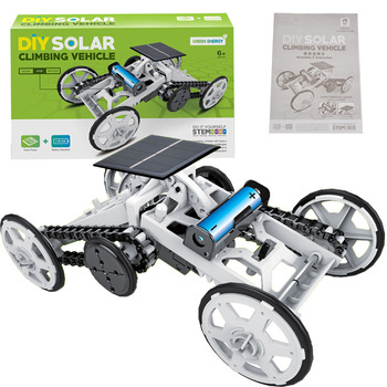 DIY Educational Toy Solar Energy Hybrid Car 1