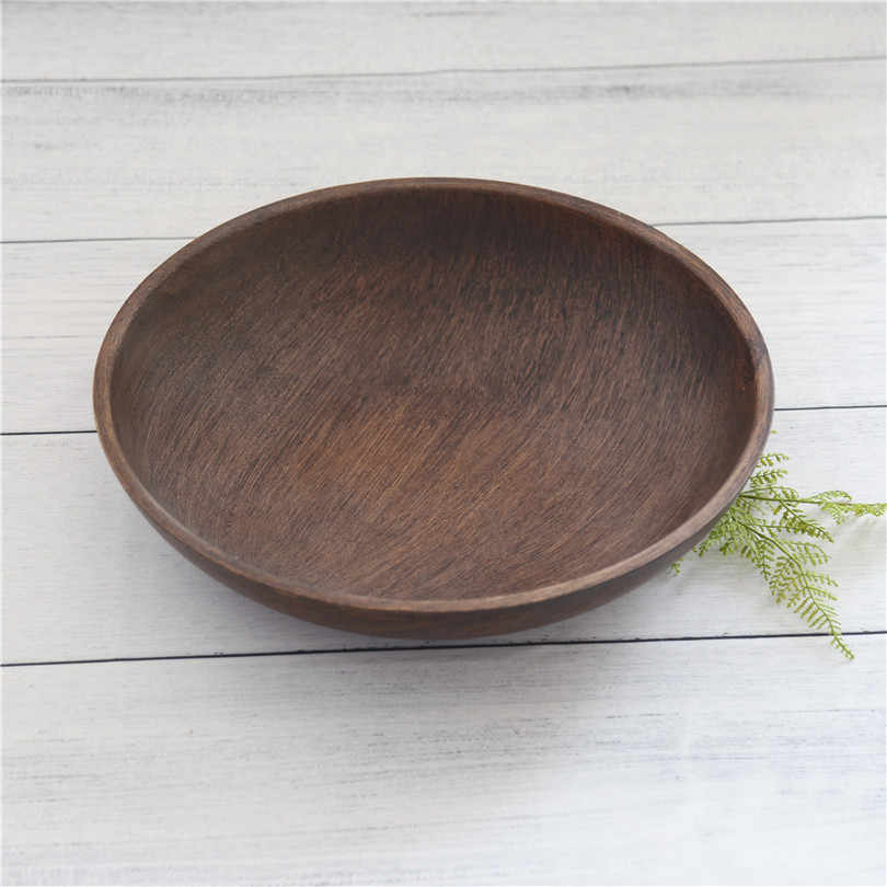 Vintage Brown Newborn Wood Bowl Sturdy Wooden Bed Neutral Baby Posing Bowl Photography Props Studio Photo Props Ready to Ship
