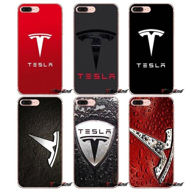 separation shoes 89c6b bf89d Accessories Cover Bag Tesla Logo Super electric car For Xiaomi Mi6 Mi 6 A1  Max Mix 2 5X 6X Redmi Note 5 5A 4X 4A A4 4 3 Plus Pro