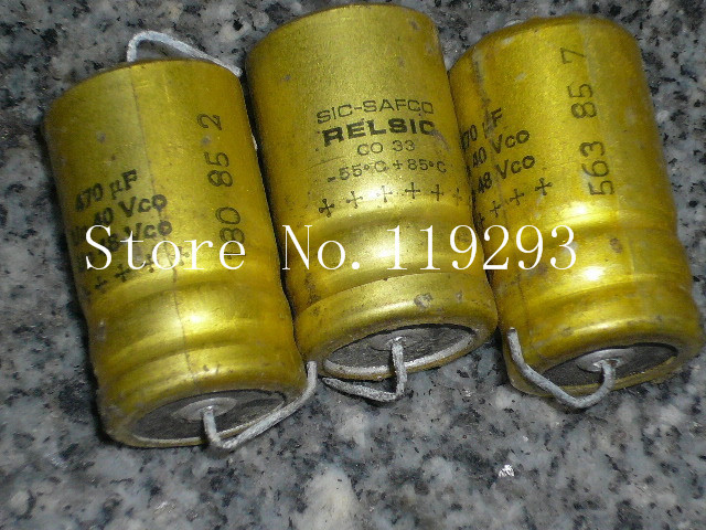 [BELLA]SIC <font><b>SAFCO</b></font> France axial enthusiast 470UF40V48V volume 18 * 30 in stock wholesale--20pcs/lot