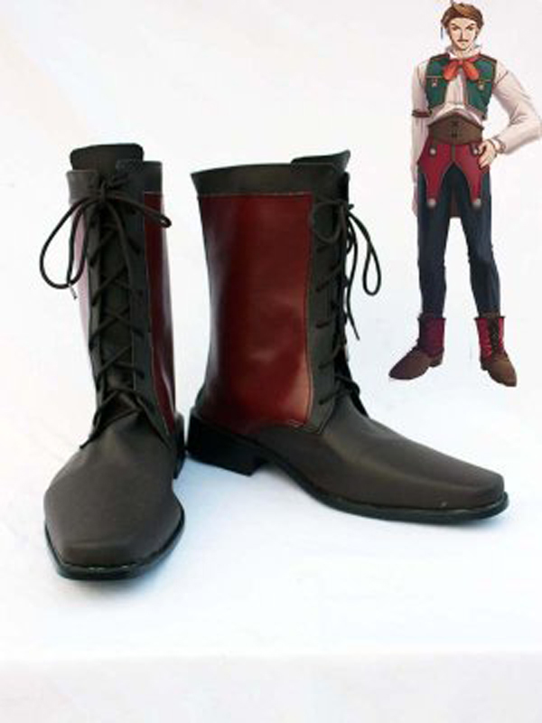 The Legend of Heroes VI Cassius Bright Halloween Cosplay Boots Shoes Anime Party Cosplay Boots Adult Men Shoes