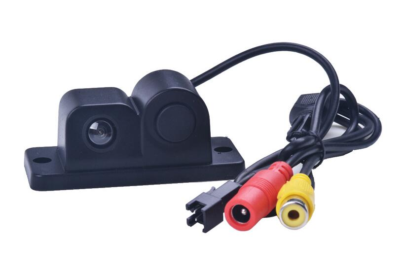 Car Rearview Camera with Radar  Car CCD camera Car alarm system Reaview Camera with Radar Bi-Bi Alarm system  Universal for car