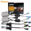 Buildreamen2 55W Bi Xenon H4 Hi/Lo AC HID Xenon Kit Ballast Bulb Harness Wire 3000K-12000K 12V Replacement Car Headlight Light