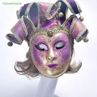 1 unid 2018New Bola de Mascarada Veneciana Máscara Del Cráneo de Alta Calidad Mujeres de Los Hombres de La Boda Decoración de La Máscara de Navidad Máscaras Del Partido Del Traje