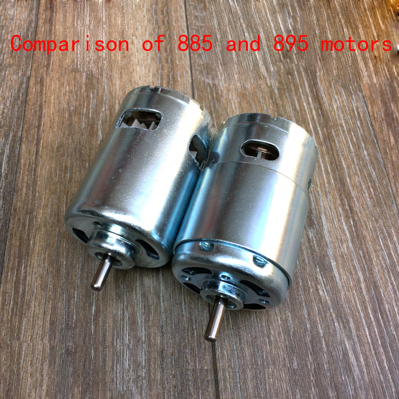 885 DC motor, 12-24V high torque, 895 high speed motor, high power bench drill electric grinder table saw 775 motor upgrade image