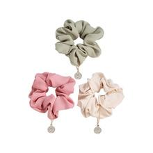 CHIMERA Hair Scrunchies for Women Girls Elastic Rubber Band Elegant Chiffon GumTie Accessory Ring Rope Ponytail Holder