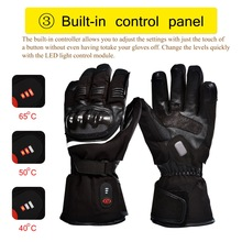 Heated-Gloves Motorcyle Electric-Battery Cycling Winter Quick-Heating Sports Riding-Racing