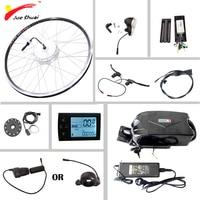 Электрический велосипед набор преобразования с Батарея 36v10ah электрический велосипед мотор колеса 250 Вт 350 Вт 500 Вт e велосипед Электрический