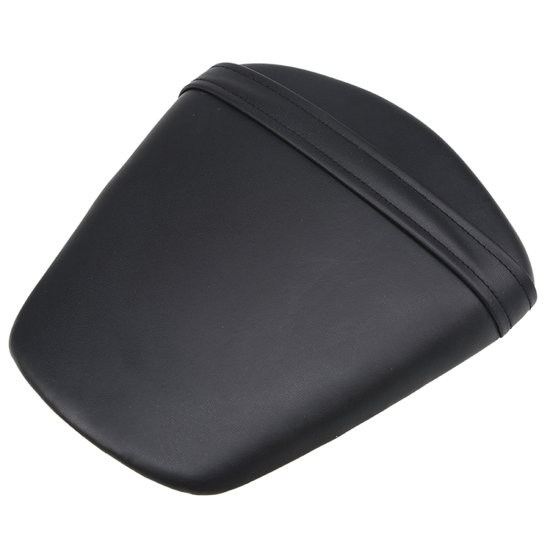 High Quality Motorcycle Solo Seat Leather Motorbike Seat Pillion Pad Seat Cover For Suzuki GSXR 600 750 2011-2012 Motor Parts
