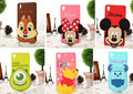 Cute 3D Cartoon Animal Sulley Minnie Mickey Chip Soft Silicone Back Cover Case For  Sony Xperia Z3 phone case Free Shipping