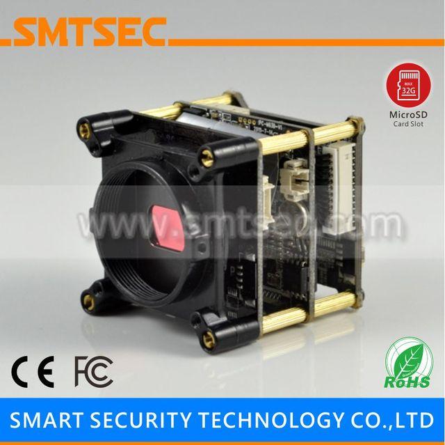 """1/2 9 """"SONY CMOS IMX291 Hi3516D Super bajo lux CCTV H.265 2MP 1080 P Starlight de la cámara IP con el módulo TF ranura para tarjeta de memoria"""