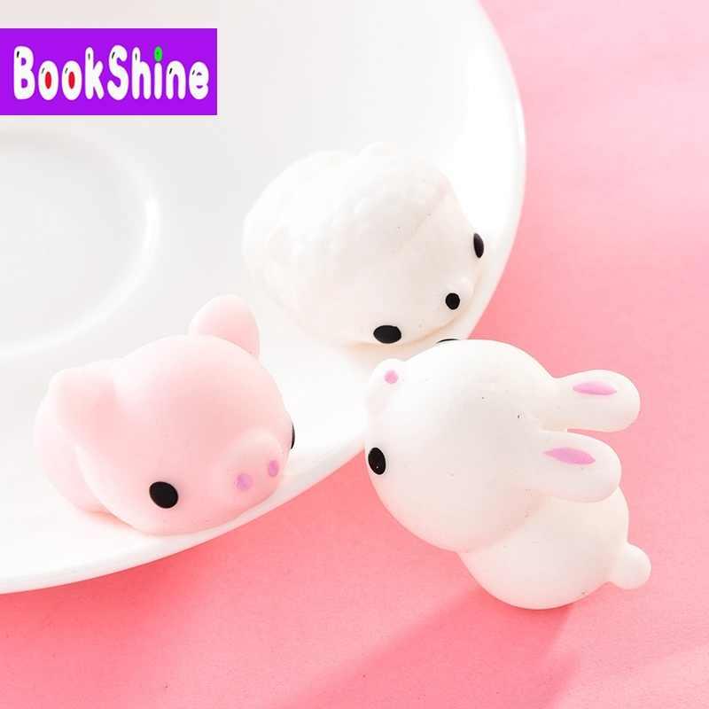 Мини Животные мягкий Моти стресс Kawaii кошка снятие стресса беспокойство игрушки для детей и взрослых смешной подарок NF01