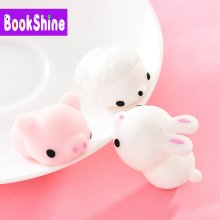 Mini Animals Mochi Squishy Stress Kawaii Cat Stress Reliever Anxiety Toys for Children Adults Toys Funny Gift NF01(China)