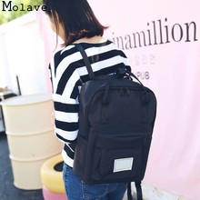 MOLAVE Backpacks oxford Cute Mini Small Travel school bag Arcuate Shoulder Strap Soft Handle women backpack 2017 dec13(China)
