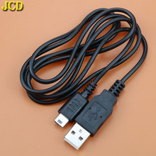 JCD 1 PCS 1.5 M USB şarj kablosu Için Nintend DS Lite NDSL Için NDS Lite NDSL Güç şarj aleti kablosu