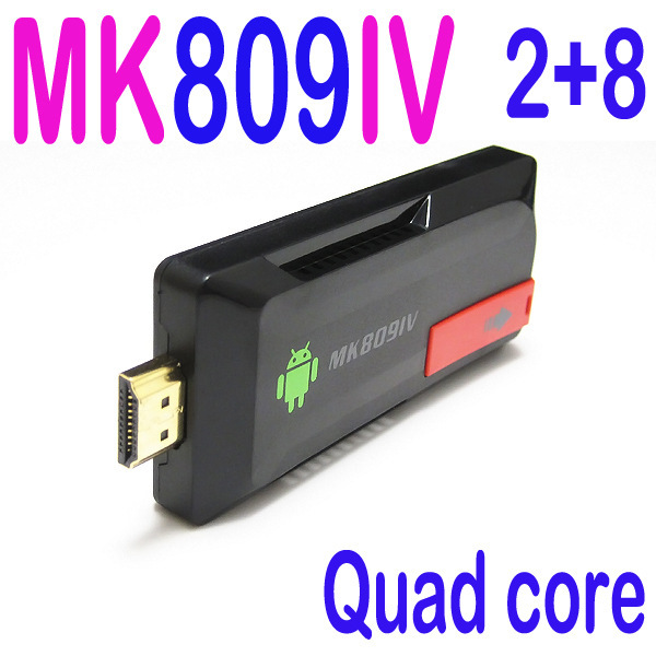 US $49 11 |Hot sale Europe TV MK809IV Quad Core TV Stick Media Player  Google Android RK3188T 2G+8G WIFI 1080P KODI HDMI Smart TV Dongle-in TV  Stick