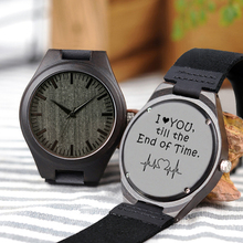 Shifenmei Wood Engraving Men Watch Family Gifts CustomizableWatches Special Groomsmen Present a Great Gift for Drop Shipping