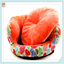 Colorful New Design Soft Dog Cushion Coral Fleece Pet Bed Mat