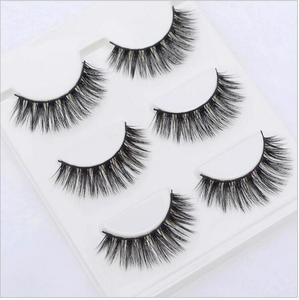 Image 4 - 13 diversi stili Sexy 100% Handmade 3D visone dei capelli di Bellezza di Spessore Lungo Ciglia di Visone Ciglia Finte Ciglia Ciglia di Alta qualità
