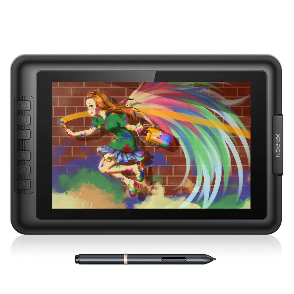 new xp pen artist10s 10 1 u0026quot  ips graphics tablet monitor pen tablet pen display with clean kit and