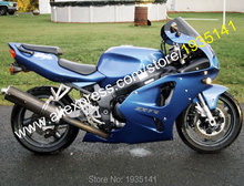 Hot Sales,ABS Moto Accessories For Kawasaki Ninja ZX-7R Parts 636 1996-2003 ZX7R 96-03 ZX 7R Blue Sports Bike Motorcycle Fairing