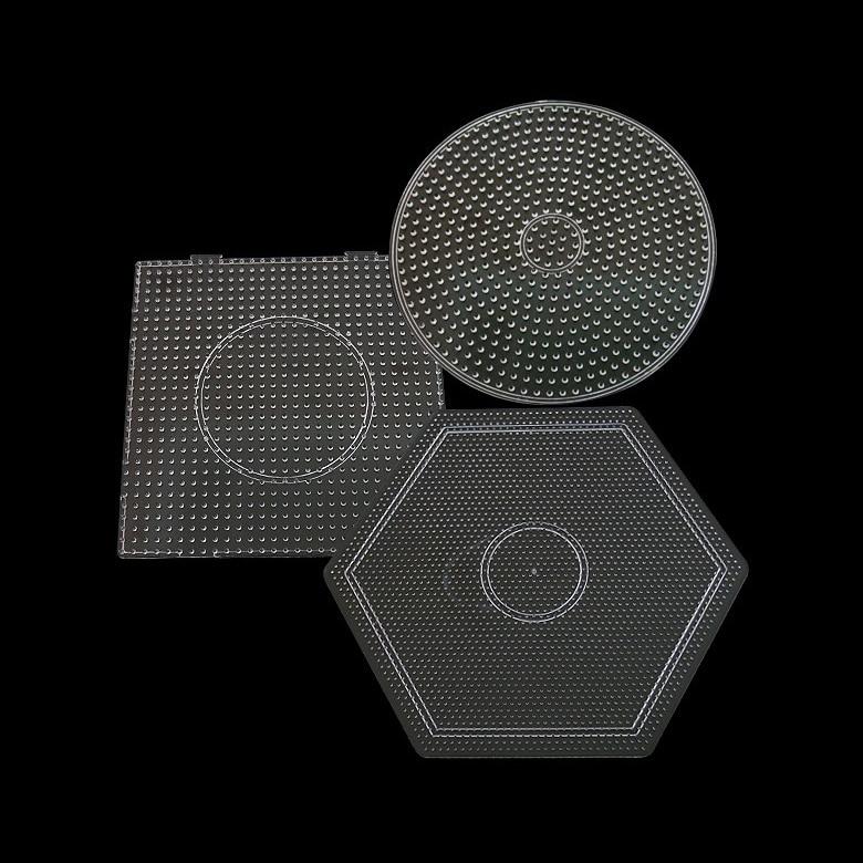 Yant Jouet 2.6mm Hama Beads Pegboard Template Board Tool Circular Square Educational DIY Figure Material Board
