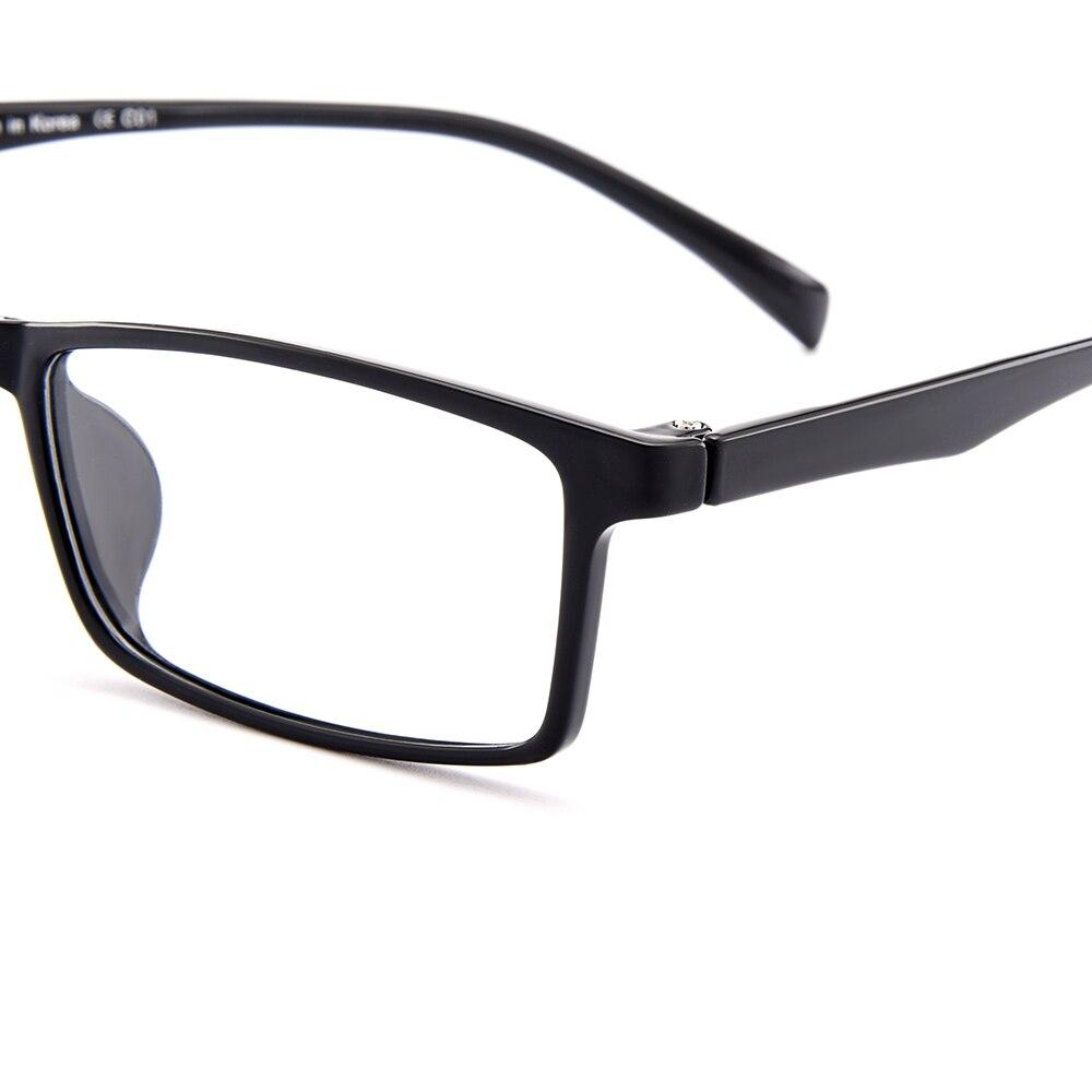 571bc2f552 BAONONG New Arrival Simple Design Black Ultralight TR90 Optical Eyeglasses  Full Rim Frames For Men s Prescription Glasses W0051-in Eyewear Frames from  ...