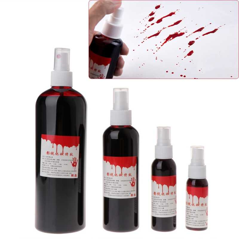 Artificial Simulated Plasma Halloween Cos Ultra-realistic Fake Blood Props