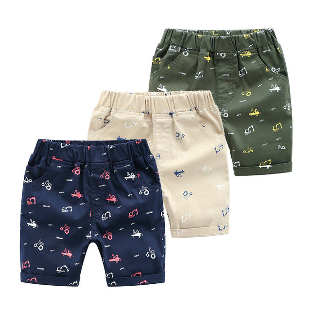 2019 Fashion Boys Shorts Teenager Summer Cotton Boy Trousers Kids Clothes Casual Toddler Bottom Baby Shorts Children Clothing